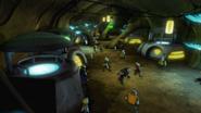 Mole mount cavern