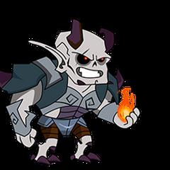 Darkbane Captain (Nacho's true form)