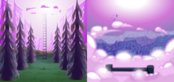 Game background rose tinted wood by gildedguy-d7xvxwb