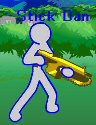 Stick Dan's Character Pose