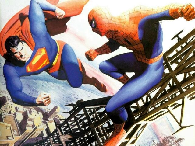 File:Superman vs Spiderman.jpg