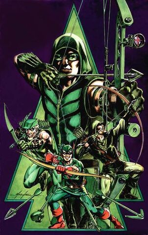 File:378px-4-Versions of Green Arrow.jpg