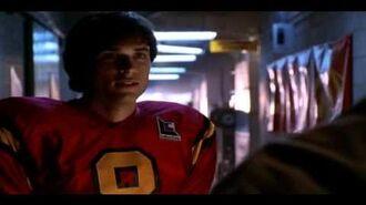 Smallville clark saving chloe during football game