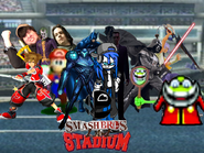 Smash Bros Lawl Stadium Title Srceen
