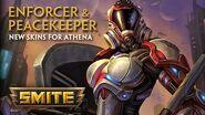 SMITE - New Skins for Athena - Peacekeeper & Enforcer