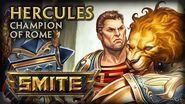 SMITE - God Reveal - Hercules, Champion of Rome