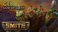 SMITE - God Reveal - Geb, God of Earth