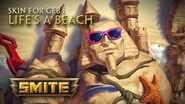New Skin for Geb Life's a Beach