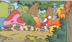 Smurf Village Comic Books