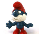 1969 Smurf figurines
