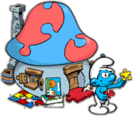The SMURFS Puzzle Games Jigsaw Puzzles Rompecabezas Kids Learning ...