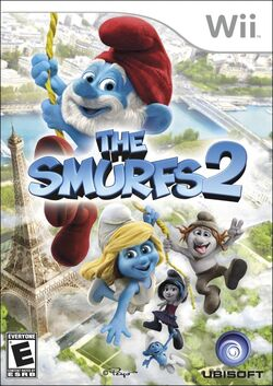 The Smurfs 2 wii case