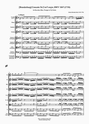 Concerto musical composition composed in three