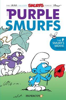 Purple Smurfs Comic Book