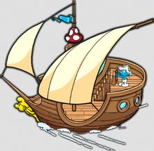 Dreamy ship