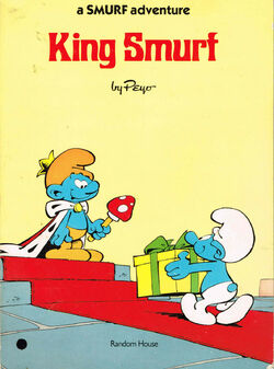King Smurf Comic Book 2