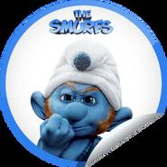 Gutsy smurf