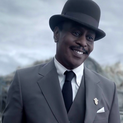 Mr. Poe in the TV series, portrayed by K. Todd Freeman.