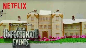 A Series of Unfortunate Events Netflix Kitchen Baudelaire's Flaming Mansion Netflix