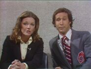 Chevy Chase with Jane Curtin