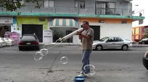 "Giant Straw Bubble Maker (3"" diam"