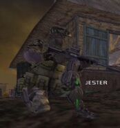 Jester socom 3 jungle