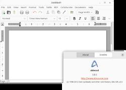 Abiword 2.4.2-screenshot