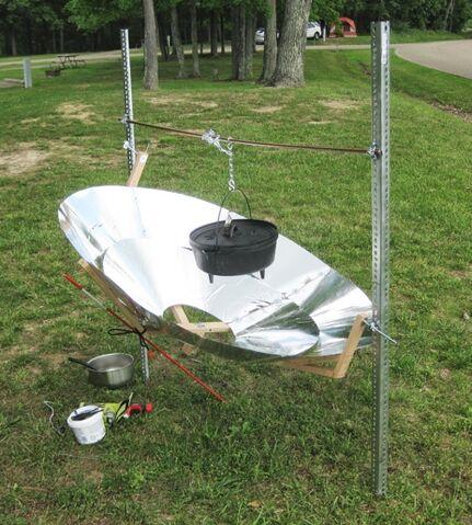 File:Multi-Conical Solar Cooker.jpg