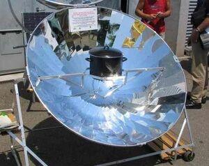 Tra International parabolic cooker