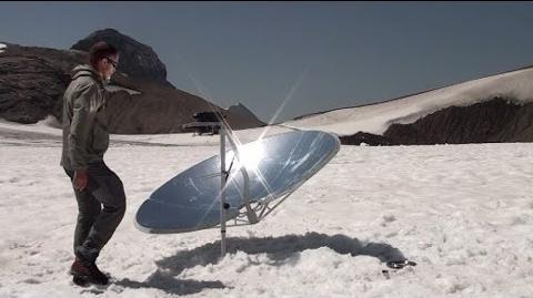 Cuiseur solaire SOLARIO COOKER à la montagne-0