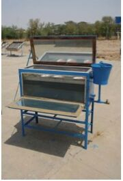 Integrated solar dryer