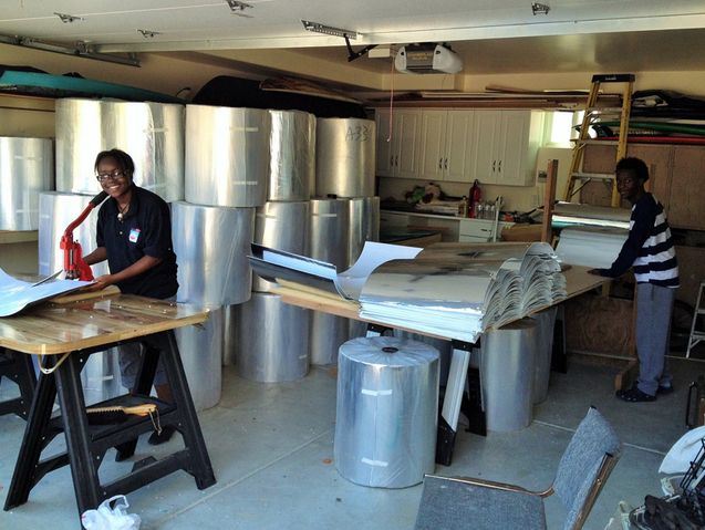 File:Haines Solar Cooker in production, 11-17-14.png