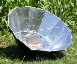 Cocina Solar Parabólica Plegable 3