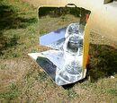 Cuiseur solaire CookPlus équipé de GreenhousePot