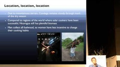 Bauer Evaluation of usage and fuel savings of solar ovens in Nicaragua