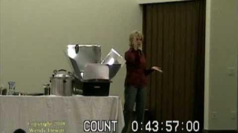 Wendy Dewitt -- Food Storage Seminar, Part 7 of 9.