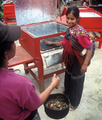 CASEP solar box oven user in Guatamala, 5-21-15.png