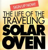 Traveling Solar Oven 2, 11-12-12