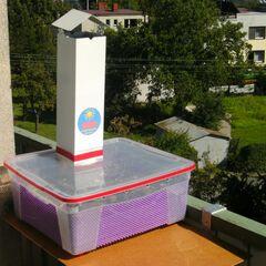 9) Séchoir en action sur le balcon