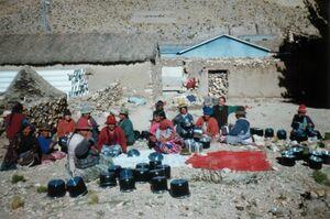 Black pots bolivia