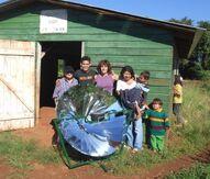 O'paybo solar cooker 1, 1-2-14