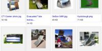 Solar trough cooker designs