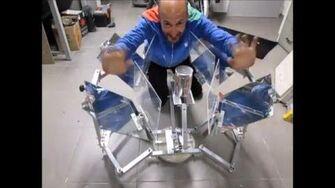 MUMA Solar Cooker 2 Assembly Test