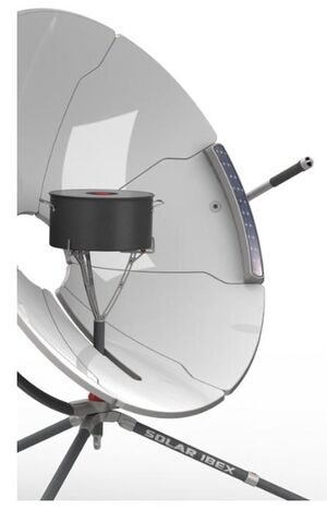 Solar Ibex detail