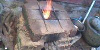 Wood burning rocket stove designed by Ashvini kumar hulithala