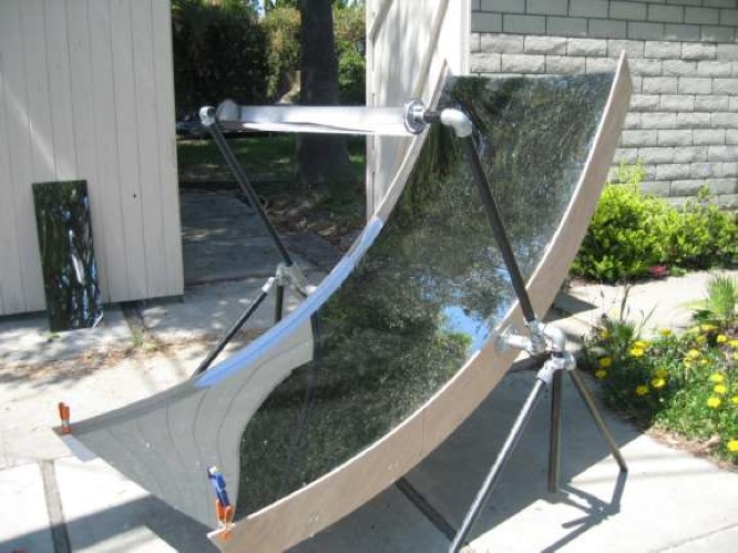 Parabolic Trough Solar Cooker Mcmullin Solar Cooking