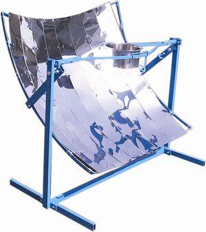 Domestic Parabolic Solar Cooker Tinytech