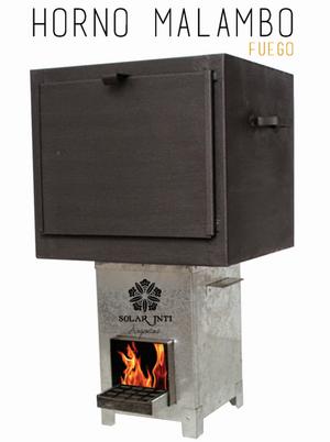 Horno MALAMBO fuel-efficient stove, 12-27-15