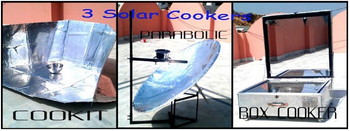3 Solar Cooker made by Pakistan Students, 4-13
