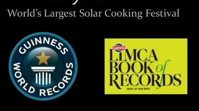 World's Largest Solar Cooking Adventure - SuryaKumbh